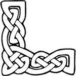 Celtic Knot Corner