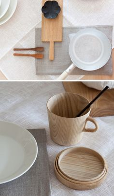 Simple cup & plate