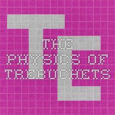 Trebuchet Physics Video