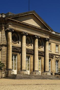 Compiegne: la façade sur le parc Neoclassical Architecture, French Architecture, Contemporary Architecture, Fort Mahon Plage, Saint Valery, Beauvais, Amiens, Baroque Design, Oise