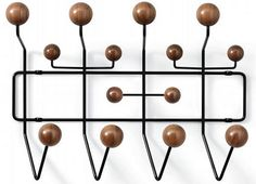 hunting: limited edition eames hang it all in walnut...