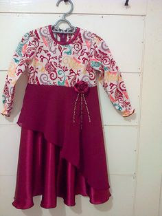 dress batik anak