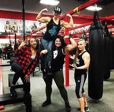 Hard work knows no gender.  We don't need protection Femininity is not a limitation.  Your stereotypes are worth sweet FA.  We already know we are equal ... it's you that is yet to catch up!  Kandyce @kande18  Amenah @onestrongnurse  Cassie @thelittlebrute  Kort @kortney_olson  #GRRRLpower  #NotYourCompetition #JustTryAndKeepUpTho