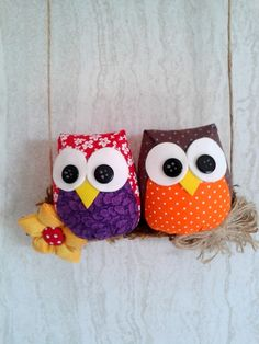 Diy Sewing Projects, Projects To Try, Sowing Projects, Owl Crafts, Recycled Art, Felt Ornaments, Creations, Kites, Dolls