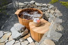 Speaking of relaxation, DIY Network Blog Cabin has a hot tub this year!