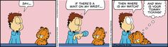 Garfield Comic Strip, September 26, 2016     on GoComics.com