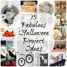15 fabulous halloween projects #Halloween ideas #halloween decorating #halloween projects