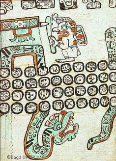 Manuscrit Maya
