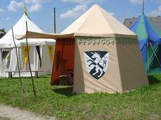 Mittelalter Zelt