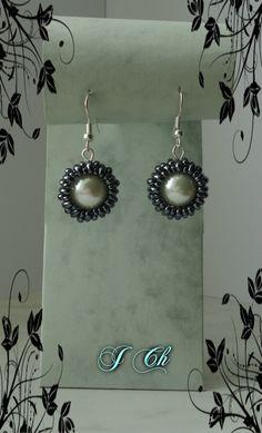 Hematitové s perleťovou perlou