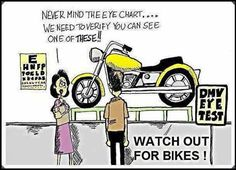 Watch for Bikers