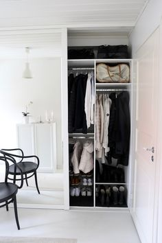 Ikea Algot, Ikea Pax, Nordic Living, Keep It Simple, Organization, Organizing, Wardrobe Rack, My House, Sweet Home