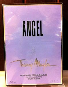 VINTAGE SPECIAL THIERRY MUGLER ANGEL THE REFILLABLE STARS 50ML FACTORY SEALED Mugler Angel, Thierry Mugler Alien, Rose Lily, Perfume Samples, Deodorant, Seal, Fragrance, Vintage, Eau De Toilette