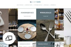 Oneida Ltd./ Fully Responsive website - combination of company presentation and its online catalogue of exclusive products.  http://www.everywareglobal.co.uk/  by Chilid.