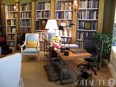 Aside from hearing all of Bunny's exciting new updates, a highlight was having the opportunity to tour her gorgeous office. A hallmark of Bunny Williams' ...