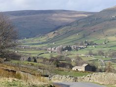 Swaledale is located in the northern part of the Yorkshire Dales.