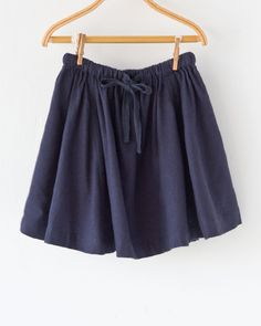 CARAMEL 2017AW キッズ UPNOR SKIRT ラダーレース ギャザースカート(A17NV NAVY)8A