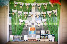 Dinosaur Birthday Party! - My Paper Pinwheel