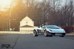 Lamborghini Gallardo Enyo - T76 High Luster Polished Windows, Brushed Face 20x9 | 20x12 Pirelli P Zero Nero 245/30ZR20 | 305/25ZR20