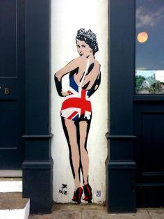 Street Art Par Pegasus  - Londres (Royaume Uni)                                                                                                                                                                                 More