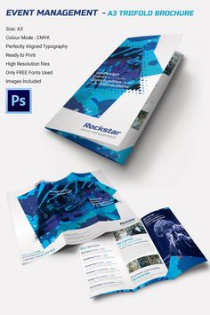 16 event brochure templates psd designs free premium