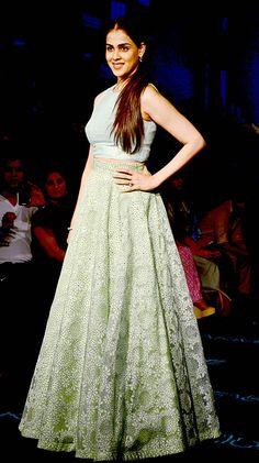 Genelia D'Souza Deshmukh at the grand finale of Lakme Fashion Week Winter/Festive 2015. #Bollywood #LFW2015 #Fashion #Style #Beauty #Cute
