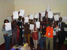 Community: Young people from seven countries in Africa wrote a declaration for road safety. Actions they call for include investment in safe infrastructure, collaborative planning and support for youth-led road safety awareness programmes aimed at their peers.