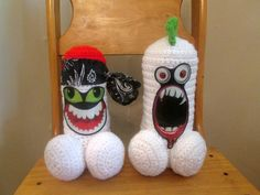 Man Cave Gag Gifts : Love penis plushie bachelorette gift over the hill crochet