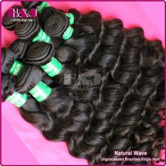 hair weave bundles 1.Virgin brazilian hair 2.sheddingtangle free 3.Wavy hold well after washing 4.Thickhealthy tip