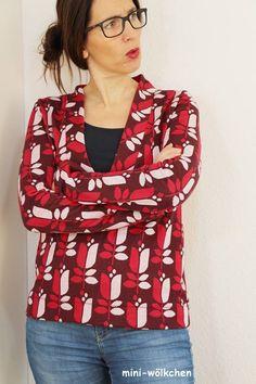 Schnittmuster / Ebook lillesol women No.24 Shirt mit V-Ausschnitt/Nähen Pulli mit V-Ausschnitt/ pdf sewing pattern Shirt with V-Neck