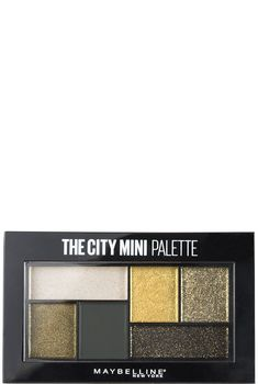 Discover mini eyeshadow palettes with 6 long-lasting, pigmented metallic & matte eyeshadow colors. Create a bold, dramatic eye makeup look inspired by NYC.