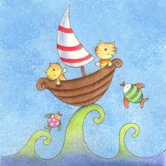 Rocking the boat!   Julia Oliver