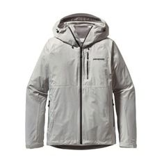 Patagonia - Women Torrentshell Stretch Jacket Gris Claro
