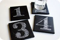 Enjoy your meal with these cool diy chalkboard coasters! You can easily make such a coaster – it would protect your furniture, it looks great and gives The Coasters, Crafts For Teens To Make, Diy Projects For Teens, Diy For Teens, Craft Projects, Cool Diy, Easy Diy, Fun Diy, Simple Diy