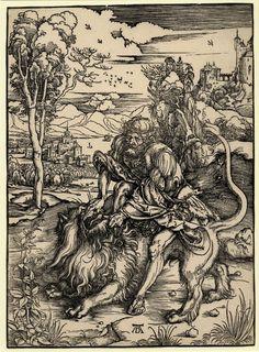 Print made by Albrecht Dürer Date 1497-1498