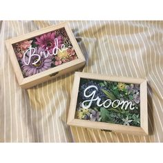 プチプラで簡単に手作り出来る*可愛い【受付サイン】7選 | marry[マリー] Tree Wedding, Diy Wedding, Wedding Gifts, Wedding Day, Wedding Images, Wedding Designs, Wedding Signage, Wedding Welcome, Flower Frame