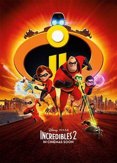 Incredibles 2 Blu-ray DVD Disney Pixar 2018 Piranha Records for sale online Disney Incredibles, Disney Pixar, Incredibles 2 Poster, Disney Dvd, Walt Disney, Disney Movies, Disney Family, Family Movie Reviews, Family Movies
