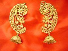 To Buy Bengali Jewellery in Kolkata? Them Gold jhumkis Kaan: Where To Buy Bengali Jewellery in KolkataThem Gold jhumkis Kaan: Where To Buy Bengali Jewellery in Kolkata Gold Jewellery Design, Gold Jewelry, Jewelry Accessories, Designer Jewellery, Filigree Jewelry, Quartz Jewelry, Bespoke Jewellery, Glass Jewelry, Jewelry Sets