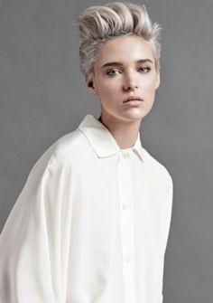 Cheveux blond clair cendré Laurent Decreton L'Oréal Professionnel 2014