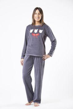 f8a070f45 pijama cue mujer woman piyama españa invierno winter sleep wear ropa dormir  noche polar tondosado Noche