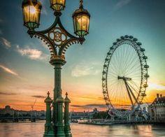 - The London Eye + River Thames (by Paul Stoakes)   via Tumblr