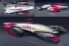 Audi Streamliner 2037 on Behance