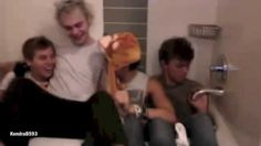 5SOS | Funny Moments 1:07 Luke and his penguins! :)