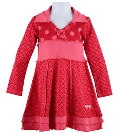 Naartjie Kids | Kid Girl Clothes | Twiggy & Carnival Spot Collared Dress