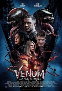 Click to View Extra Large Poster Image for Venom: Let There Be Carnage Film Venom, Venom 2, Michelle Williams, New Movie Posters, Original Movie Posters, Gaming Posters, Music Posters, Film Posters, Tom Hardy New Movie
