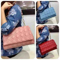 ready Dior vero semipremium 28x17  / red-pink-blue