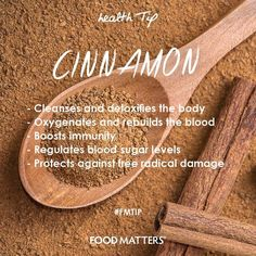 Most famous for its use as a culinary spice, but has been used for centuries as a food preservative and for medicinal and healing properties. It is an excellent source of manganese, fiber and iron and an awesome source of calcium. We LOVE this heartwarming wonder-spice! How do you like using it? www.foodmatters.tv