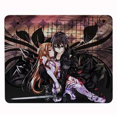 Hot Lovely Cartoon Anime Sword Art Online Gaming Mouse Mats Anti-Slip Rectangle Mouse Pad Customized Supported //Price: $9.95 & FREE Shipping //  #gamer #gaming #playinggames #online #onlinegaming #gamerguy