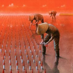 "Pawel Kuczynski  ""Korean rockets"" via Pawel Kuczynski on Facebook"