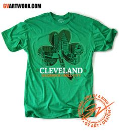 Cleveland ShamRock and Roll City! COSE Members @GV Art + Design get in the St. Patrick's Day Spirit